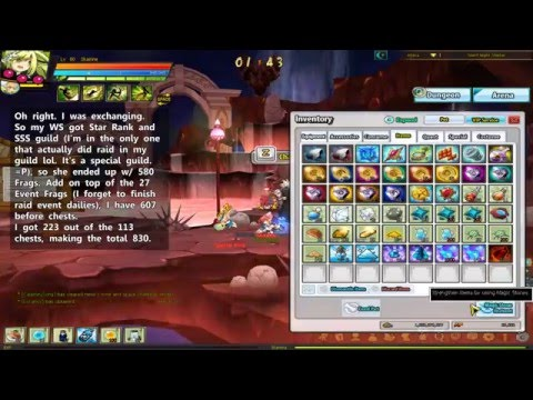 Elsword NA - Perkisas Phase 1 Sage Stone Exchange Results