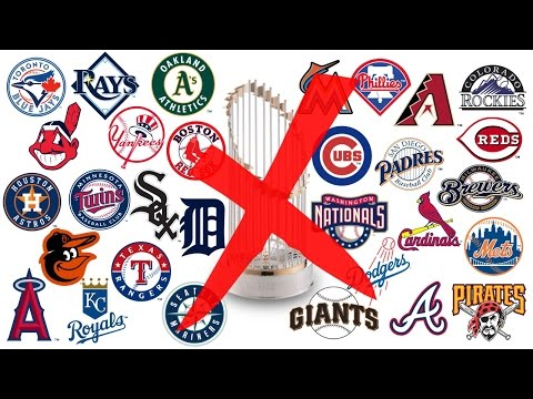 Why Your FAVORITE MLB Team WON'T WIN the 2017 World Series