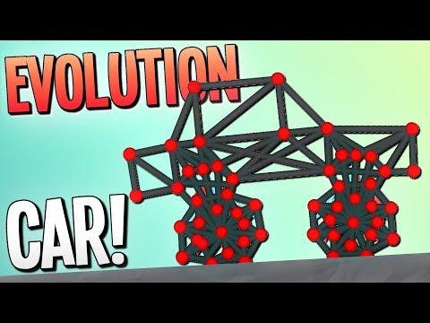 EVOLVING A CAR - Evolution Simulator - Evolution Gameplay