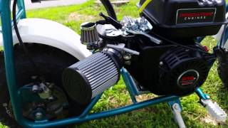 how to make your mini bike go 10 mph faster in 5 minutes for free