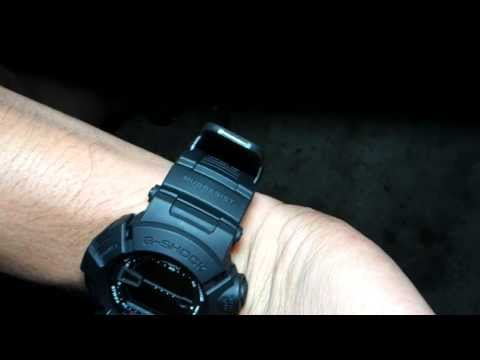 casio g-shock g-9000ms-1dr on skinny wrist