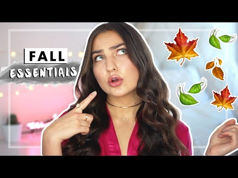 MUST-HAVES FOR FALL | Jaclyn Forbes
