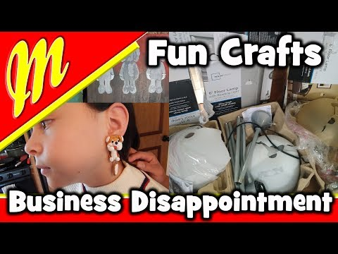 Fun Crafts and Business Disappointment in our RV / Full Time RV Family