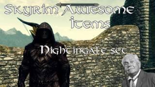 Celes Nightingale Armor (Skyrim MOD) | Daikhlo