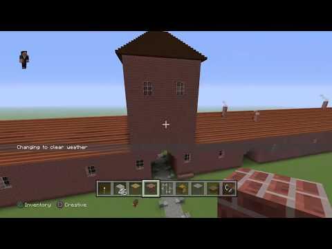 Auschwitz in minecraft   building an evil place