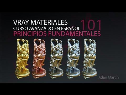 Vray Materiales avanzados - Parte01 - Teoria y principios fundamentales en Español.