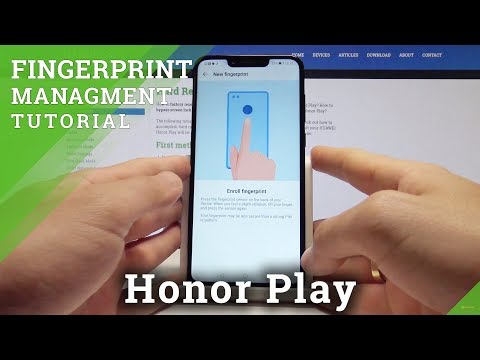 How to Add Fingerprint on Honor Play - Set Up Screen Lock in Honor