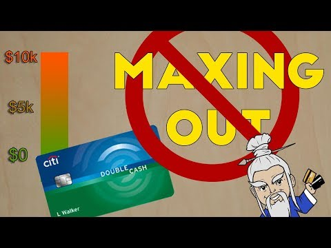 Why You SHOULDN'T MAX OUT a Credit Card