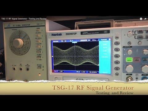 TSG-17 RF Signal Generator - Testing and Review