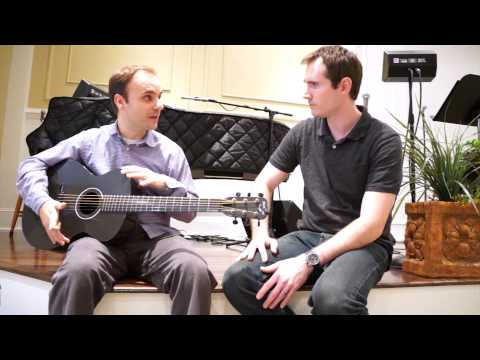 Blackbird Guitars Lucky 13 Carbon Fiber Acoustic Guitar Review & Demo