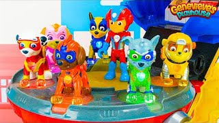 Paw Patrol Fun Learning Video for Kids - Mighty Pups vs Battle Robot!