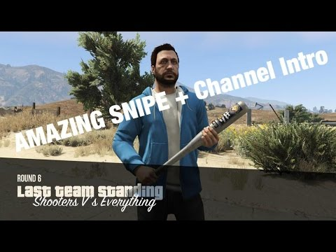 AMAZING SNIPE GTA V Online (Introduction To My Channel)