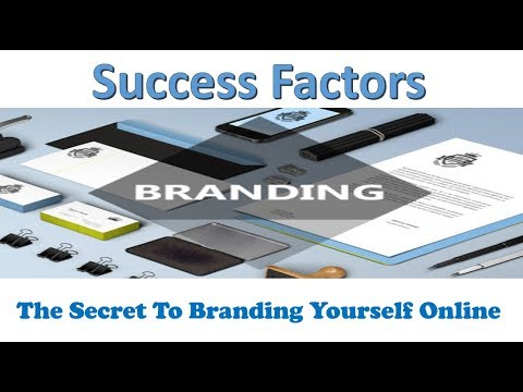 The Secret To Branding Yourself Online 1
