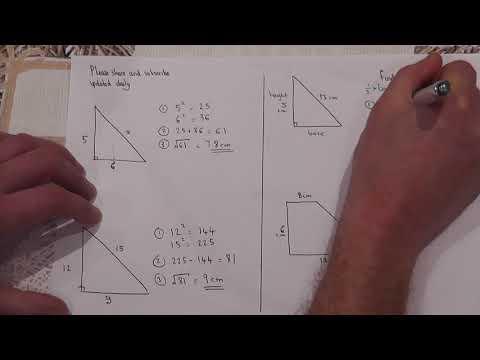 Daily Essential GCSE Maths video : Guarantee a Grade 5: Video 2: Pythagoras GCSE