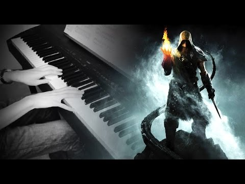 SKYRIM - The Streets Of Whiterun (Piano Solo) + Sheets Download