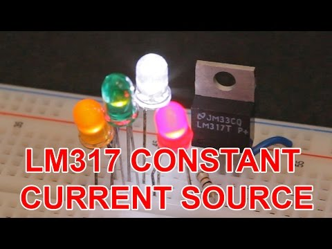 Constant current source and laser / LED driver tutorial