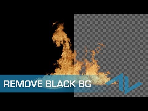 How to Remove Black (and White) Backgrounds from Stock Footage