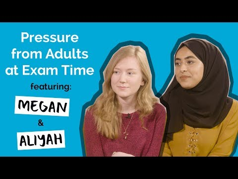 Pressure from Adults at Exam Time ft. Aliyah and Megan | Voice Box