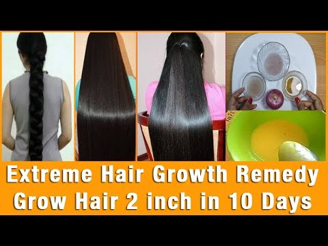 how to grow hair long and fast and naturally in one week | Magical Hair Growth Treatment