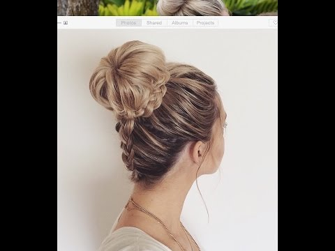 How to: Upside Down Dutch Braid into a Braided Bun