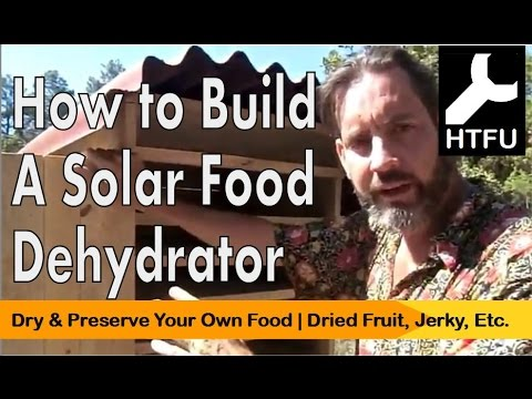 DIY Solar Dehydrator: How to Make Homemade Dehydrated Fruit for Free Without Energy