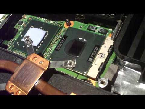 How to Replace CPU and Memory (RAM) on a Dell Inspiron 1525 Notebook