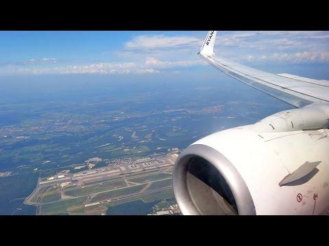 Ryanair Boeing 737-800 EI-DPC Landing at Milan Malpensa Airport