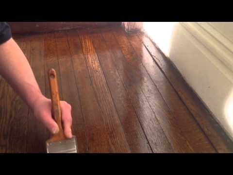 How to refinish oak wood floors without sanding part 4