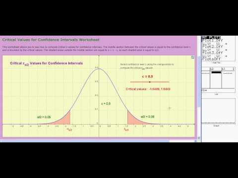 Ti 83/84:  Normal Distributions:  invNorm (V05b)