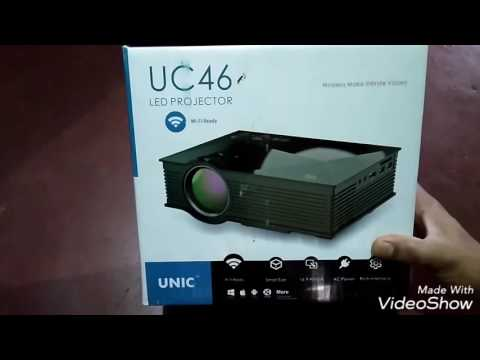 best low price projector in India unic uc 46 led projector