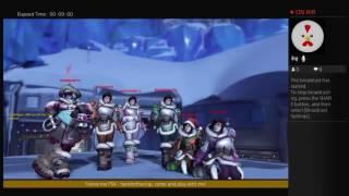 Overwatch Winter Wonderland Brawl Live Stream w/ Commentary