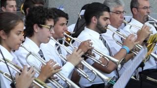 Concierto realizado el día 19 de julio de 2015 en la plaza de Cheo, Candelaria.