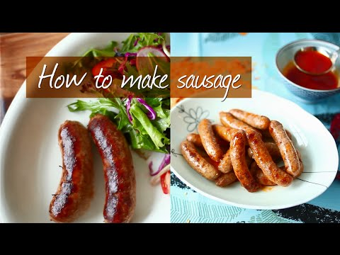 How to make sausage at home