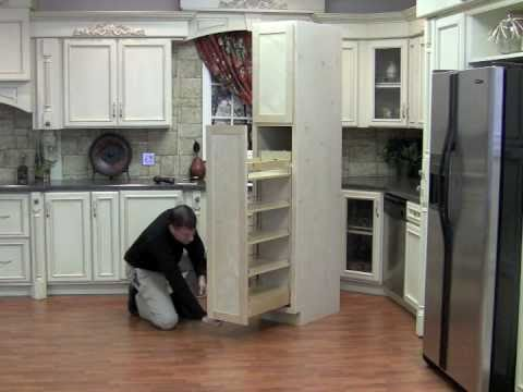 Installing The Pullout Wood Pantry