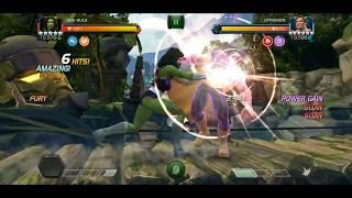 MCOC: Rank 5 She-Hulk (Beta) vs Aspect of War Hyperion