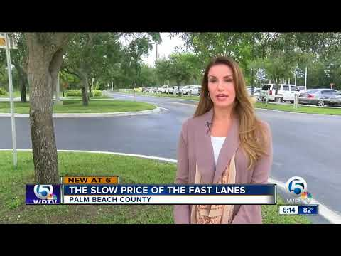 Construction for I-95 express lanes in southern Palm Beach County to start soon