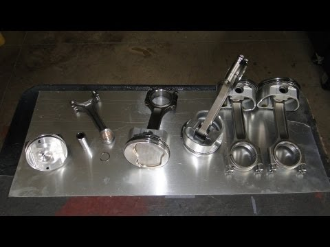 Engine Building Part 4: Pistons, Rings, and Rods