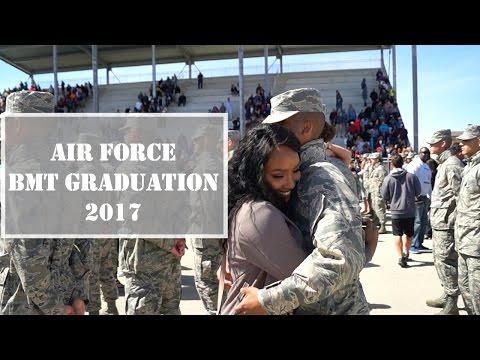 Air Force BMT Graduation Vlog!! | Part 1