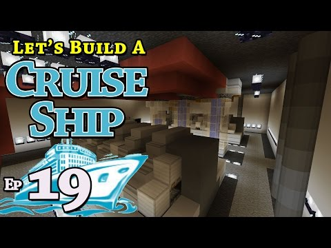 How To Build A Cruise Ship :: Minecraft :: E19 :: Z One N Only