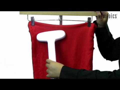 Perfect Steam™ Deluxe Commercial Garment Steamer by HoMedics