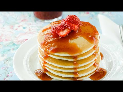 Homemade Strawberry Pancake Syrup Recipe