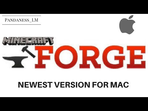 How To: Download Minecraft Forge Newest Version for Mac (EASY)