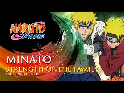 Naruto Online - The Strength of the Family | Cross-Server Sage Battlefields