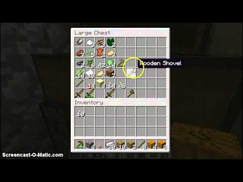 how to make a jack \o/ lantern in minecraft