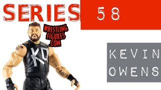 WWE FIGURE INSIDER: Kevin Owens - WWE Series 58 Toy Wrestling Figure from Mattel