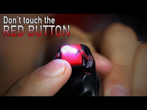 DIY Electric Shock Game: Don't touch the red button