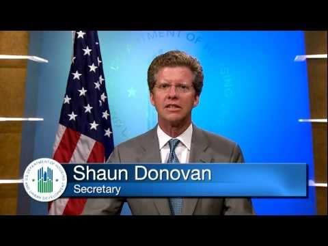 Secretary Donovan on the  Emergency Homeowners Loan Program - HUD - 7/15/11