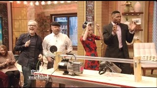 MythBusters - High Speed Ping Pong - Live With Kelly & Michael