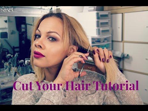 DIY: At Home Haircut | How to cut your own hair TUTORIAL