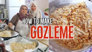 How To Make Turkish Gozleme / Best Recipe From A Local Lady